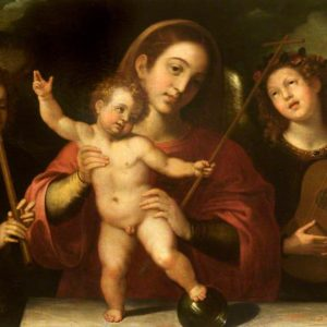 Ribalta, Francisco, 1565-1628; Madonna and Child with Music-Making Angels
